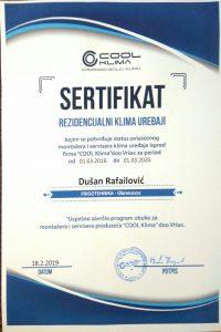 sertifikat polar klime frigotehnika